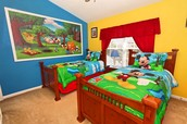 Disney Themed Rooms and Bathrooms
