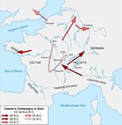Julius Caesar's Conquest