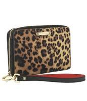 Leopard Print Chelsea Tech Wallet- Was $59 Now $30
