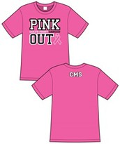 Colleyville Middle Pink Out Shirts