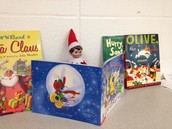 Fritz picked out his favorite holiday books!
