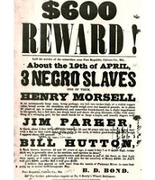 Reward Poster for Capture of Runaway Slaves