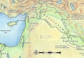 The location of Mesopotamia