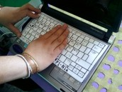 Teclado braille