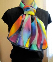 The Finished Silk scarf