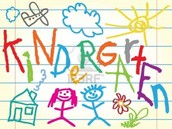 Enroll NOW for Kindergarten