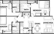 3/3 Apartment