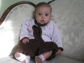 when rosa park was a baby