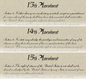 The 'Reconstruction' Amendments