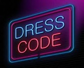 Wear uniform (fallow dress code).