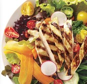 Grilled Chicken Salad!!! - Ingredents
