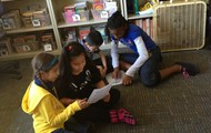 Special Share : First and Fifth Grade Buddies
