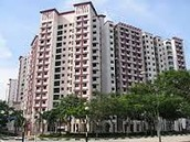 Housing estate in sengkang