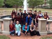 AVID 8th Graders visit Campbell University