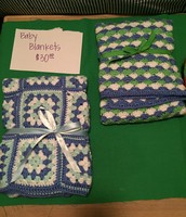 Baby Blankets $30