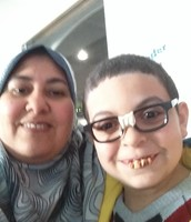Old Mohamed and me!!