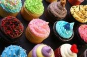 Cupcake Decorating (cafeteria)