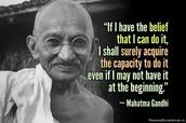 Leader Response #1 Gandhi + Analysis of Gandhi