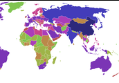 CO2 Emissions for each counrty