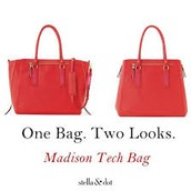 Madison Tech bag (poppy) $50