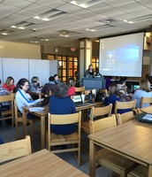 9th grade DHS teachers learned about the new devices for freshman, HP x360 devices and the use of Microsoft 365!