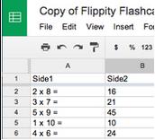 Flippity.net - Online Flashcard Creator