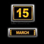 My Birthday March 15