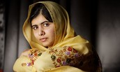 A picture of Malala