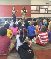 WillowFork Firefighters Visit Kdg