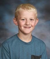 Carson Bauer 3rd Grade Boys Champion!