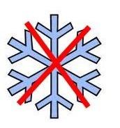 Está no nevando.