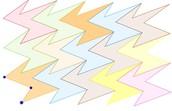 geogebra, fibonacci, mynstur, skölun, stærðun, föll, ítrun, þökun, Escer, snúningar, hliðrun, endurtekning, mynsturgerð, hreyfing, samhverfa, speglun, vektor 2vd, 3vd,