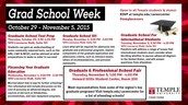 Grad School Week!