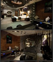 I want this Batman themed room!