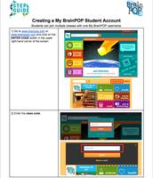 Creating a My BrainPop Student Account