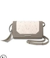 Nolita Medium Crossbody - Winter White/Dove Grey $46.73
