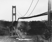 The Tacoma Bridge After Collapse