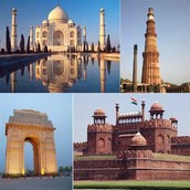 A travel to the combination of Delhi, Agra, Jaipur and Mumbai