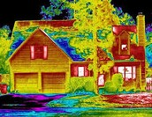 Infrared Thermal Heat Image