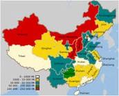 China Natural Resource Map