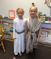 Aniston Crabtree and Riley Riggs enjoyed dressing up for Star Wars Day