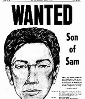 Wanted Picture of Son of Sam before catching Berkowitz
