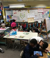 iPads with Kinder and 4th