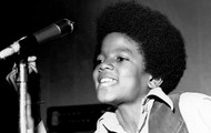 Michael as a young child