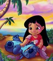 Lilo and Stitch together my favorite