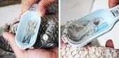 Cuisine propre outil poisson balance poisson peau Remover échelle rapide brosse