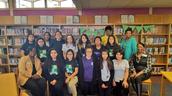 Our Gamma Sigma girls enjoyed an etiquette class.