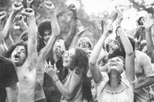 Fans at Woodstock