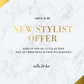 Take Advantage of this Fantastic New Stylist Offer!