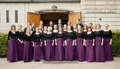 Kendte efterårssange, nyere kormusik og musik med tekst af H.C. Andersen